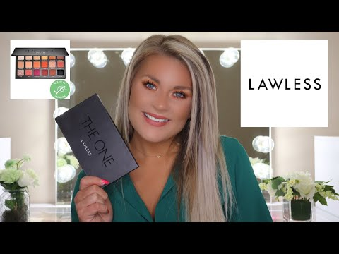 LAWLESS   THE ONE EYESHADOW PALETTE REVIEW