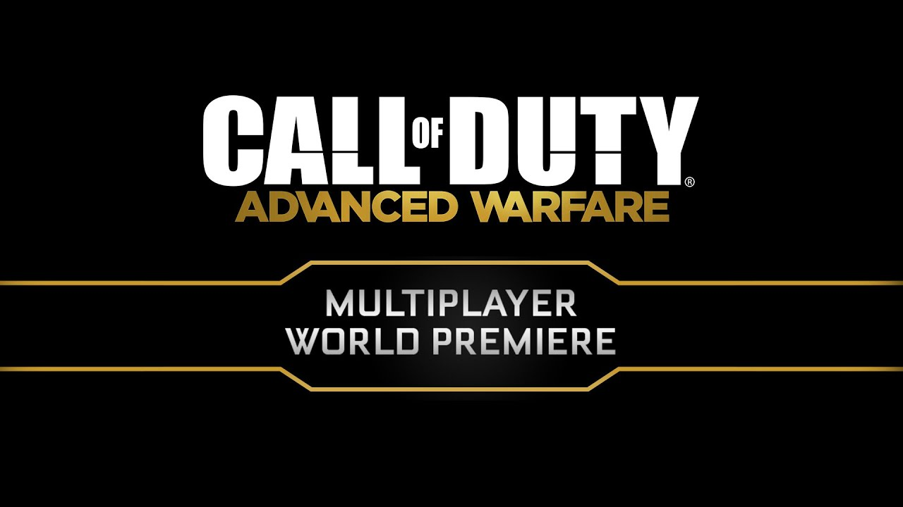 Official Call of Duty®: Advanced Warfare – Multiplayer Global Reveal Event