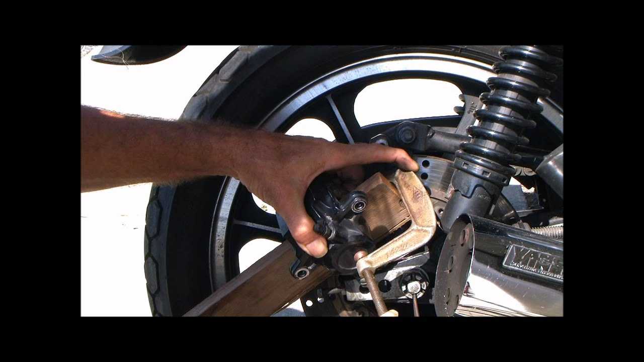 Unsticking your brake caliper
