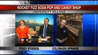Rocket Fizz Colorado Springs on Fox 21