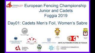 Cadetsb Men's Foil & Women's Sabre.