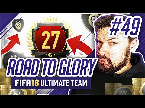 27TH IN THE WORLD REWARDS! - #FIFA18 Road to Glory! #49 Ultimate Team