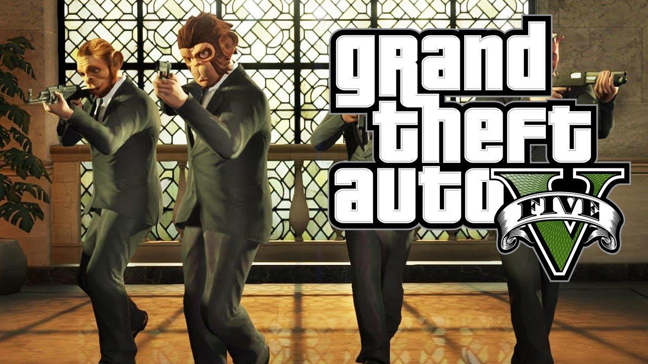 GTA V - 5 Common Myths BUSTED (Robbing Banks, Shooting Cameras, Heists ...