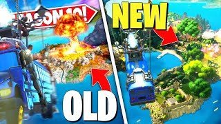 *NEW* FORTNITE ISLAND DESTROYED *FOREVER* AFTER LEAKS CONFIRM NEW SEASON 11 ISLAND! SEASON 11 UPDATE