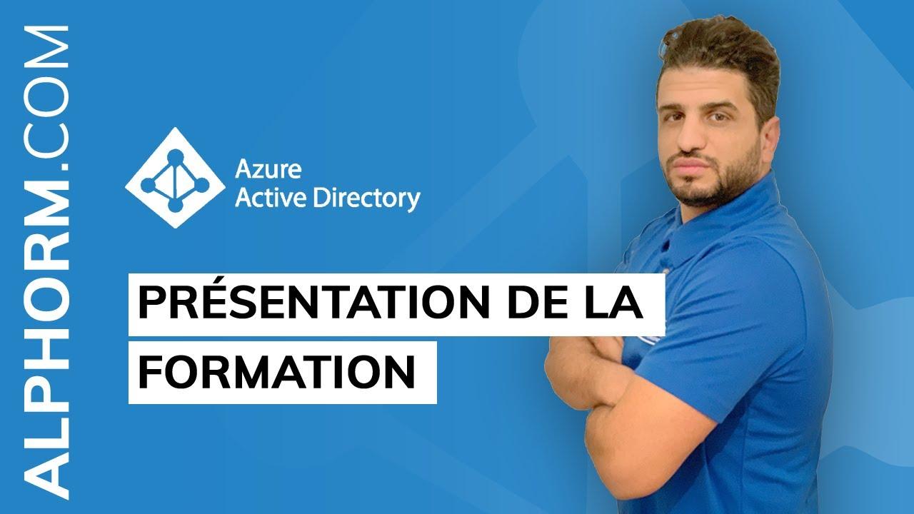 Présentation de la formation Azure Active Directory
