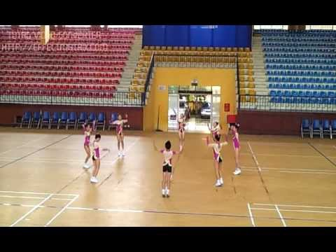 video AEROBIC THIEU NHI Q.LONG BIEN 2012