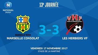 Marseille Consolat vs Les Herbiers full match