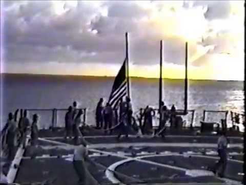 USS Laboon DDG-58 MEF cruise 1996 Part 1