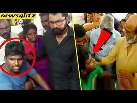 ரஜினிய விரட்டிய இளைஞர் சரத்குமாரையும் ? : People reaction on Sarathkumar visit to Tuticorin