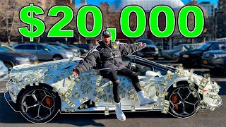 I Went to the Hood with my Lamborghini Wrapped in $20,000 ! *WORST DECISION EVER*