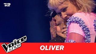 """Oliver   """"Can't Help Falling In Love"""" af Elvis Presley   Blind 3   Voice Junior Danmark 2017"""