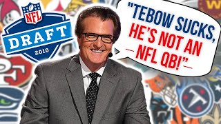 Every NFL Team's Draft Pick that Mel Kiper was ACTUALLY RIGHT About