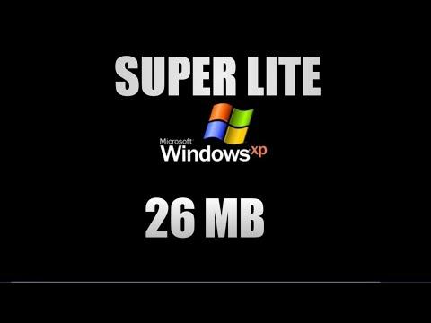 Windows XP Sp3 Super Lite [26 Mb] 100% Funcionando