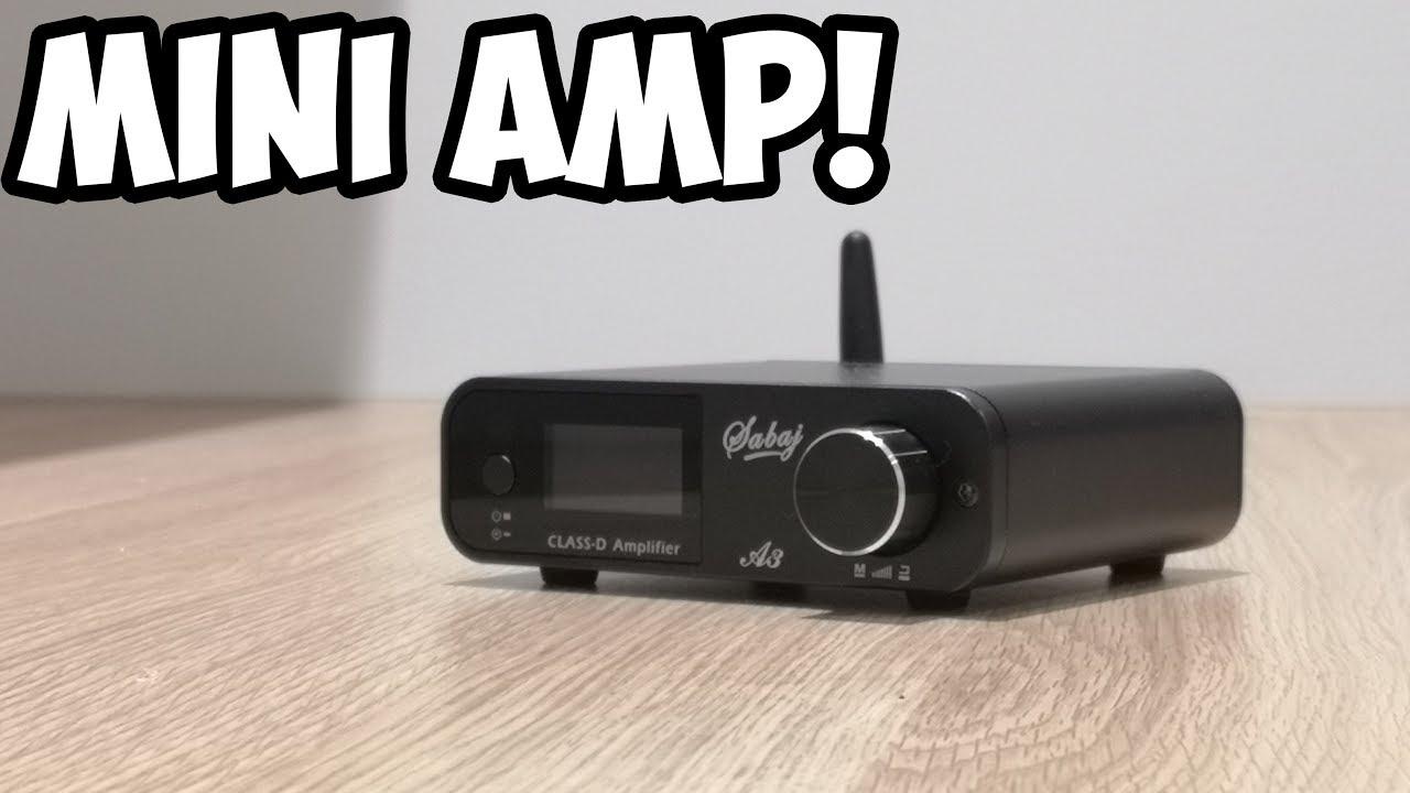 sabaj  Mini Bluetooth Amplifier! (Sabaj A3) - YouTube
