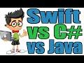 Swift vs C# vs Java