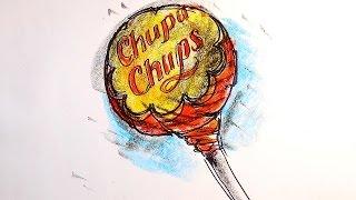 Как нарисовать ЧУПА-ЧУПС / Видео урок рисования для детей