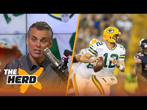 Colin Cowherd praises Aaron Rodgers after Green Bay's Week 4 win over Chicago | THE HERD
