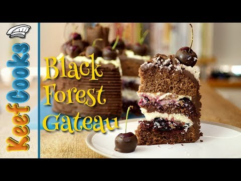 Black Forest Gateau | Cherry, Cream and Chocolate Cake