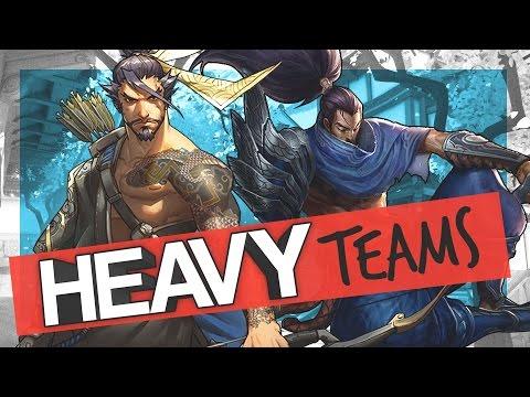 Heavy [Teams] ft Lunity (Linkin Park feat. Kiiara - Heavy PARODY)