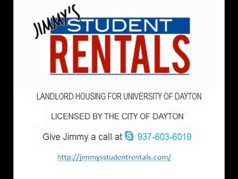 University of Dayton Student Landlord Rental Housing in Dayton Ohio
