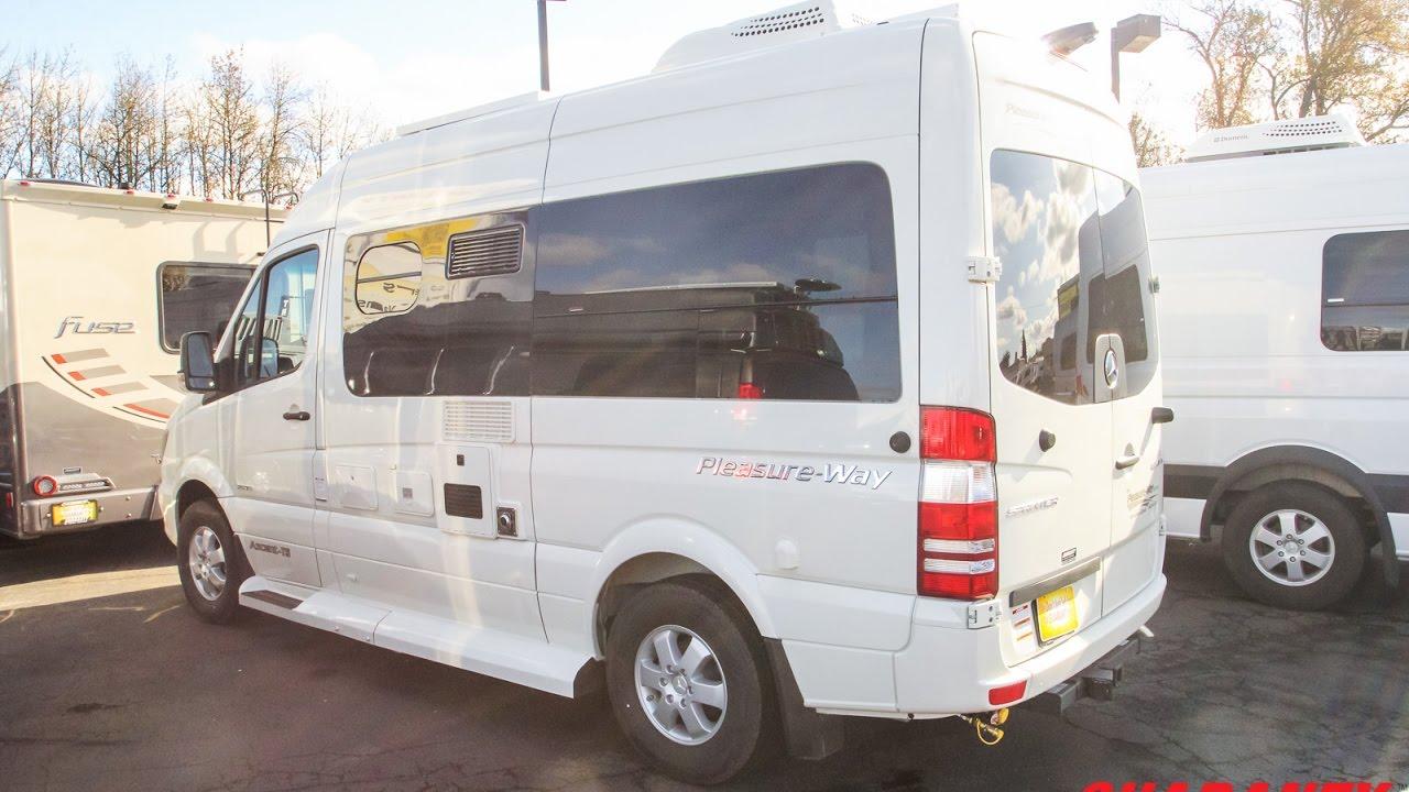 2017 Pleasure Way Ascent Ts Class B Diesel Camper Van