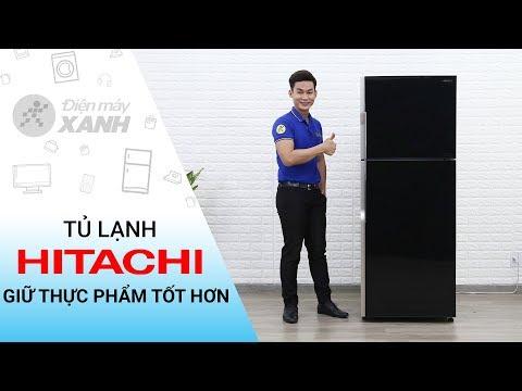 Tủ lạnh Hitachi Inverter 365 lít: quạt kép, làm lạnh thông minh (R-VG440PGV3) • Điện Máy XANH