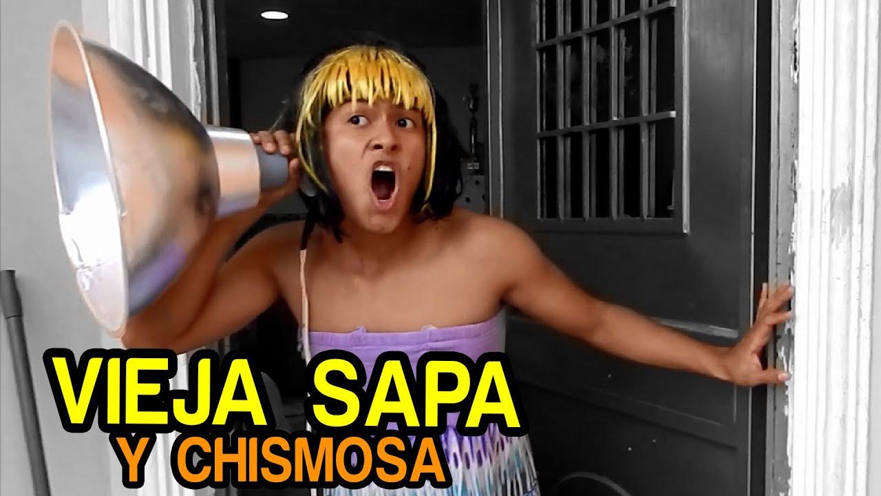 Vieja Sapa Y Chismosa Nandito Ind