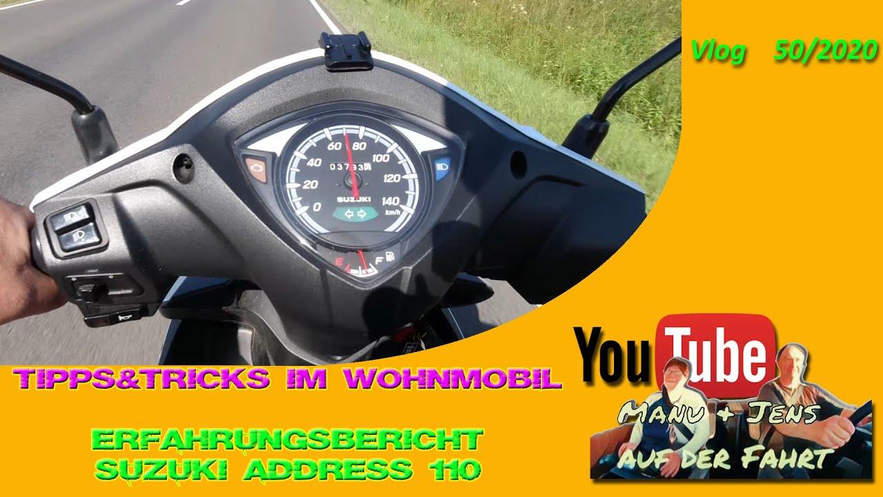 Tipps&Tricks im Wohnmobil - Erfahrungsbericht mit der Hummel, unserem Roller