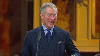 The Prince of Wales speaks at St. Mellitus College