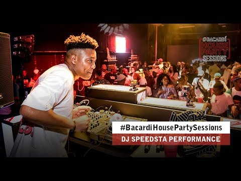 Watch Dj Speedsta's #BacardiHousePartySessions Performance