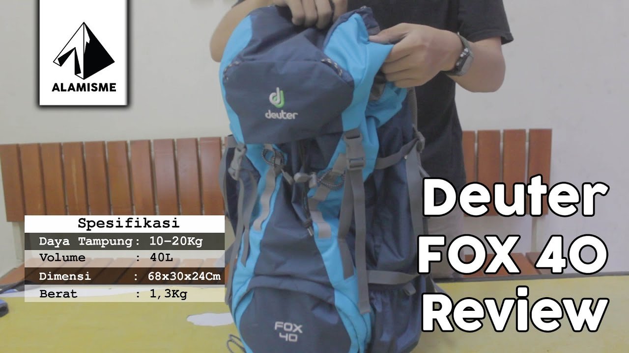 023f92f9d8 Deuter Fox 40 Review - YouTube