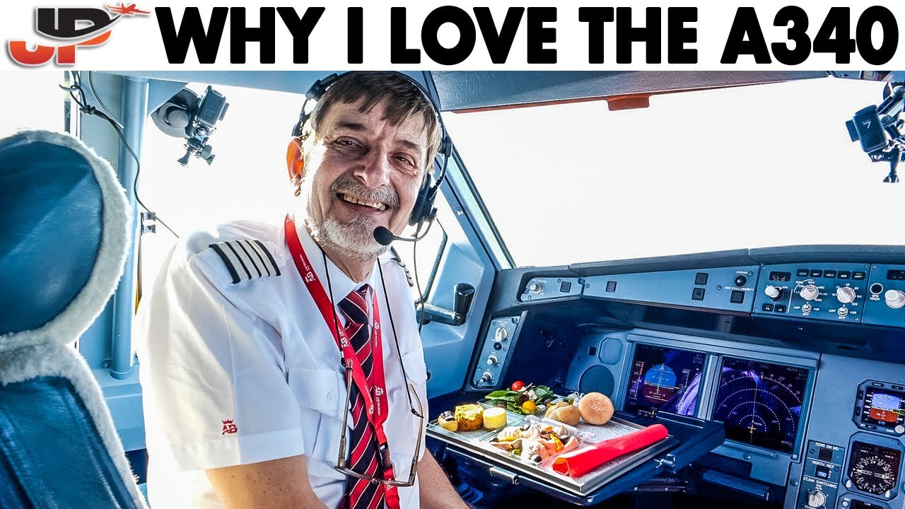 Why I love the AIRBUS A340 + Cockpit Presentation
