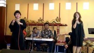 # MARI lah KEMARI--cover Sherly Malinton & Dina Mariana#tgl.3-Jan-15 Malam di Gd.Depnaker-Gatsu