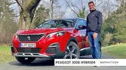 2020 Peugeot 3008 Hybrid4 (300 PS): Plug-in-Hybrid im Review, Test, Fahrbericht