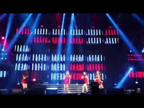 [Fancam] 151024 T-ARA (티아라) - Number 9 @ Hefei Concert (1)