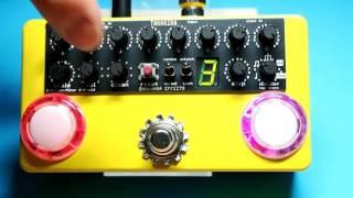 "Bananana Effects ""TARARIRA"" arpeggiator pedal demo"
