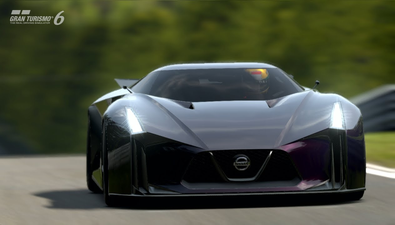 【GT6】グランツーリスモ6【60FPS】NISSAN CONCEPT 2020 Vision GT at ...