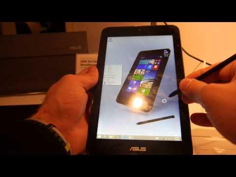 Asus VivoTab Note 8 mit 8 Zoll Display und Windows 8.1 im Hands-On