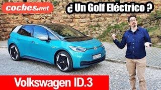 Volkswagen ID.3: ¿Un Golf Eléctrico? | Primera Prueba / Review en español coches.net