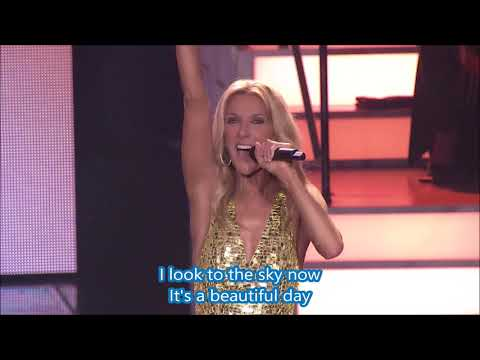 Céline Dion - Flying On My Own (Live) - Lyrics