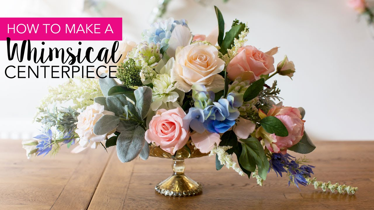 How-to: DIY Whimsical Centerpiece - YouTube on flower bouquet, flower punch set, flower gift, flower crystal, flower arrangements, flower container, flower store, flower stand, flower trash can, flower decoration, flower painting, flower window, flower pot, flower tissue box cover, flower plant, flower decor, flower basket, flower dinnerware set, flower coloring pages, flower sign,