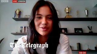 video: Emma Raducanu: 'I'll leave £1.8m prize money for parents to sort out'