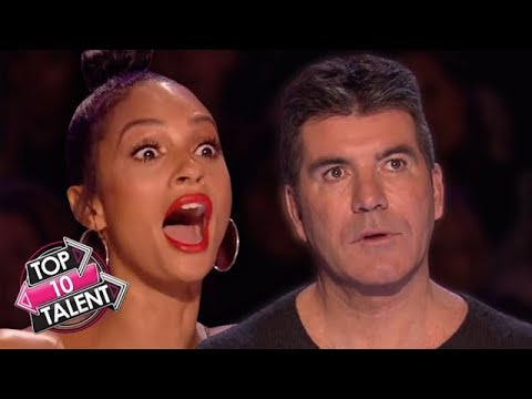 TOP 10 SURPRISING Auditions On Got Talent, Idol and X Factor!