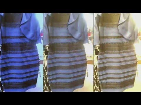 Internet debates dress color