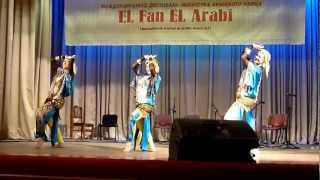 "International festival of arabic dance art ""El Fan El Arabi"" with Nour`s orchestra"