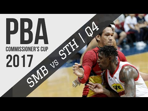 Semis G2: San Miguel vs. Star - Q4 | PBA Commissioner's Cup 2017