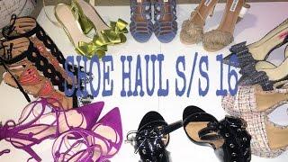 Spring/Summer Shoe Haul 2016