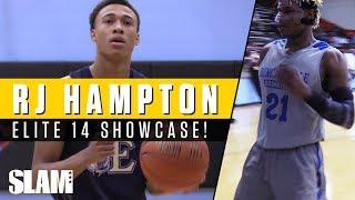 RJ Hampton makes his Junior Season DEBUT! Elite 14 Showcase Recap | SLAM Highlights