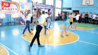 Школа 120 СПб. Закрытие Спартакиады. Начало.