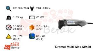 Dremel Multi-Max MM20 - F013MM20JA - MnBetak.com for more info plea...